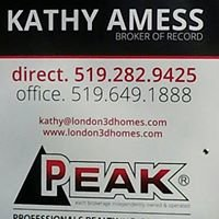 Kathy Amess - Broker of Record, Peak Professionals Realty Inc.