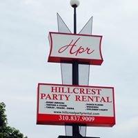 Hillcrest Party Rentals Inc.