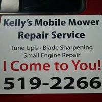 Kelly's mobile mower repair service