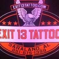 Exit 13 Tattoo
