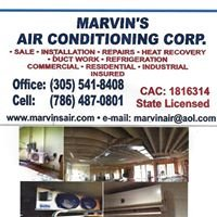 Marvin's Air Conditioning Corp.