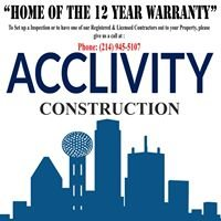 Acclivity Roofing & Construction Firm