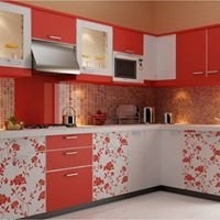 Modular kitchen/wooden work/interior