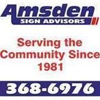 Amsden Sign