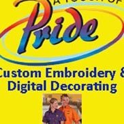 A Touch of Pride Custom Embroidery & Digital Decorating