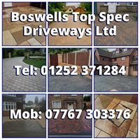 Boswells Top Spec Driveways Ltd