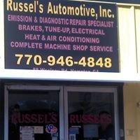 Russel's Automotive, Inc.