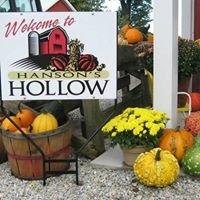 Hanson's Hollow