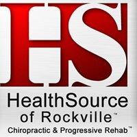 HealthSource of Rockville | Chiropractic & Progressive Rehab
