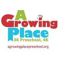A Growing Place Preschool & 4K  -  AGPP