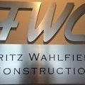 Fritz Wahlfield Construction Company