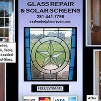 AAA Leaded Glass Repair & Solar Screens