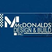 McDonalds' Design & Build Inc.