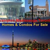 Brampton,Mississauga,Toronto Homes and Condos For Sale