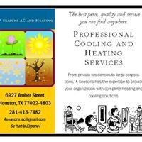 4 Seasons Air Conditioning and Heating