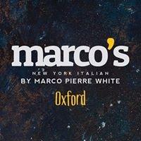 Marco's New York Italian, Oxford