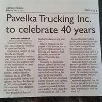 Bernard Pavelka Trucking, Inc.