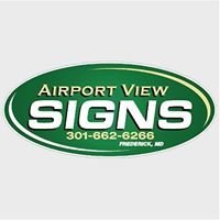 Airport View Signs