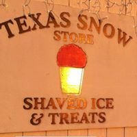 Texas Snow Store Shaved ice