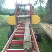 Riverwood Portable Sawmill and wood sales.