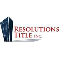 Resolutions Title Inc.