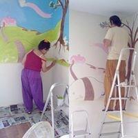 Pintura decorativa de interiores-Artxpirit