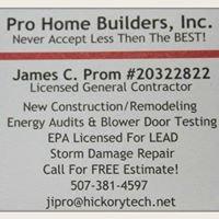 Pro Home Builders, Inc.