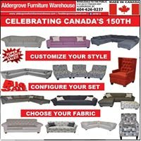 Aldergrove furniture warehouse