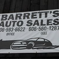 Barrett's Auto Sales, Inc.