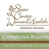 Shaw Center for Women's Health Aesthetic Services
