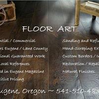 Floor Art  Eugene Oregon