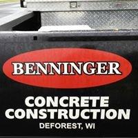 Benninger Concrete Construction