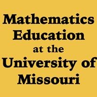 Mathematics Education at the University of Missouri