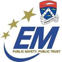 Town of Hopkinton, RI Emergency Management Agency