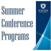 Xavier University Summer Conference Program