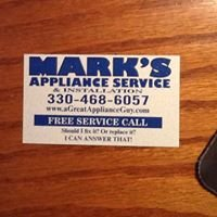 Mark's Appliance Service