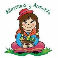Alimentos Y Armonia -Cocina Integral Vegana y Vegetariana-