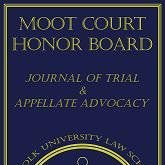 Moot Court Honor Board at Suffolk Law