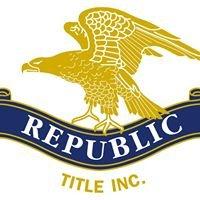 Republic Title, Inc.