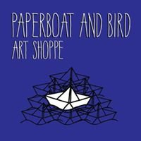 Paperboat and Bird Art Shoppe