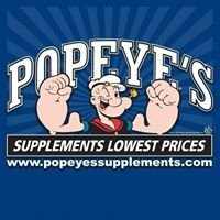 Popeye's Supplements Burlington
