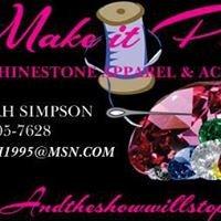 MAKE it POP Custom Rhinestone Apparel