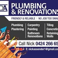 NDA Plumbing and renovations