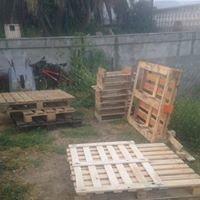Fabrication meubles en palettes.