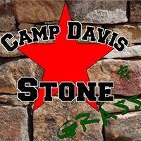 Camp Davis Stone and Grass