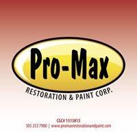 Pro-Max Restoration & Paint Corp.