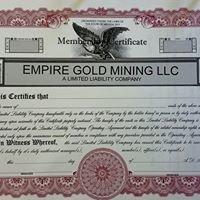 Empire Gold Mining, LLC
