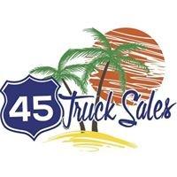 45 TRUCK SALES