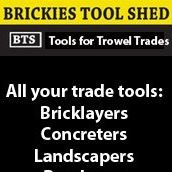 Brickies Tool Shed