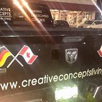 """Creative Concepts  "" Painting -Landscaping - Concrete"
